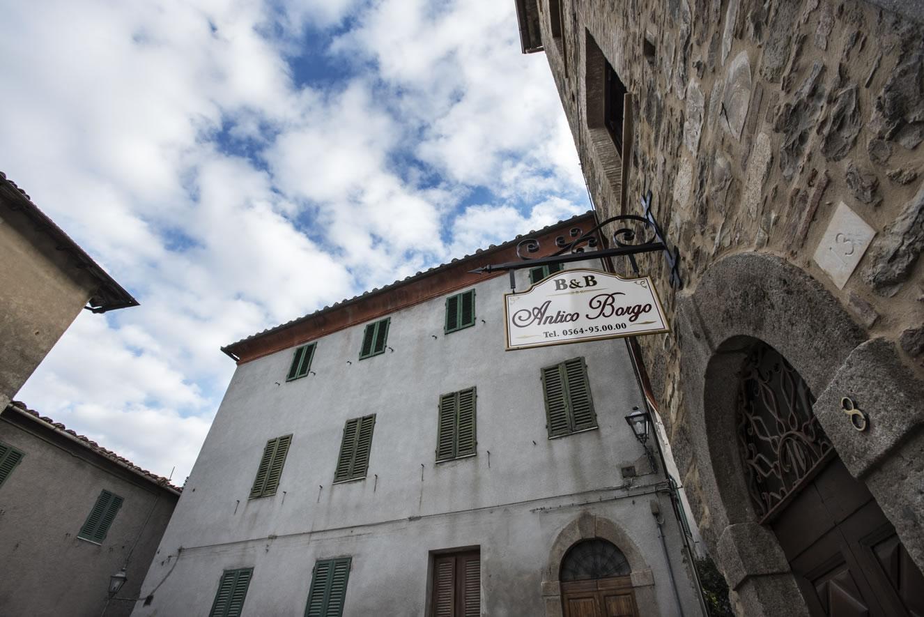 ingresso bed and breakfast antico borgo