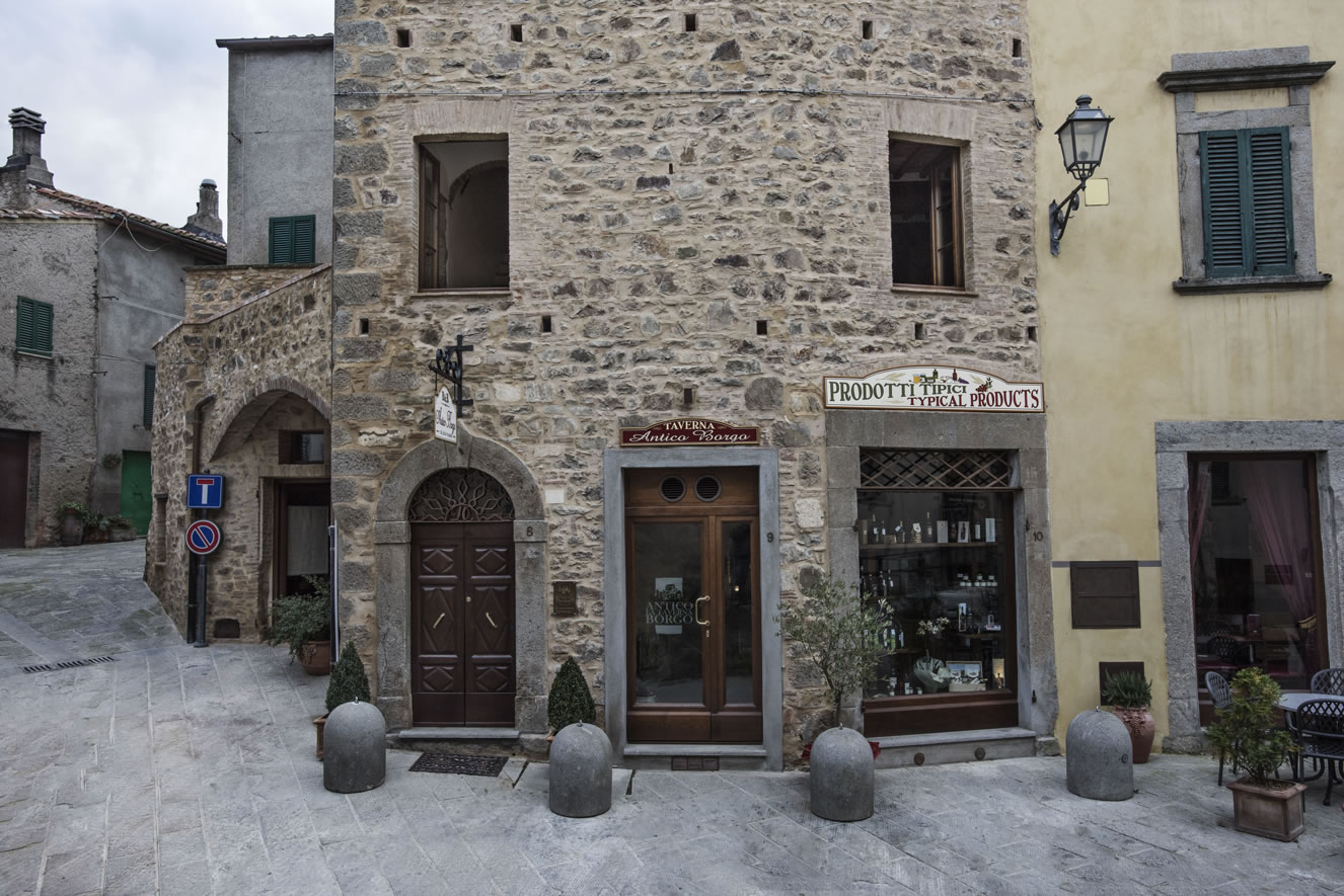 ingresso frontale bed and breakfast antico borgo